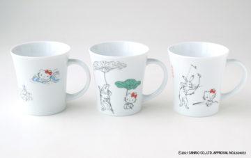 Hello Kitty ในรูปแบบย้อนยุค! ออกชุดจานชามธีมศิลปะมังงะที่เก่าแก่ที่สุดในโลก ให้บรรดาแฟนๆได้เก็บสะสม