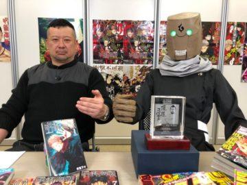 อาจารย์ผู้วาด มหาเวทย์ผนึกมาร ปรากฏตัวครั้งแรกบนทีวีด้วยชุดคอส Mechamaru