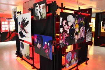 อาจารย์ Ishida Sui ผู้เขียน Tokyo Ghoul และ JACKJEANNE มีนิทรรศการที่ย่านอิเคบุคุโระ