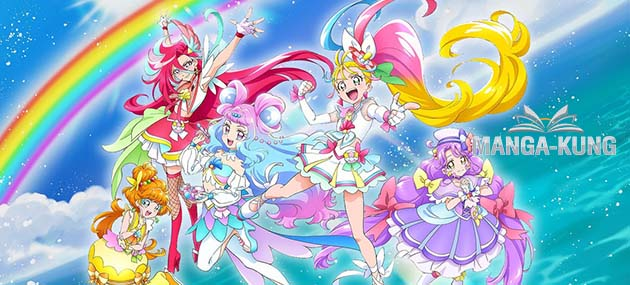 Tropical-Rouge! Pretty Cure ออกมาเผยภาคใหม่ล่าสุด ฉายภาค HeartCatch ให้ดูฟรีๆ
