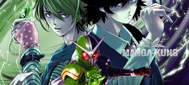 Kamen Rider W Futo Tantei เป็นฉบับอนิเมะที่มีการปล่อยภาพ Image Board