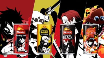 สะสมให้ครบเพื่อเป็นจ้าวแห่งโจรสลัด กับกาแฟกระป๋อง Wonda ลาย One Piece ในญี่ปุ่น!
