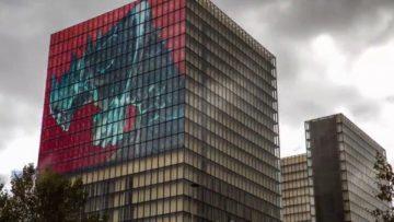 Kaiju No. 8 ขึ้นภาพขนาดใหญ่ที่อาคารหอสมุดแห่งชาติในฝรั่งเศส